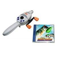Sega Bass Fishing and Rod Dreamcast
