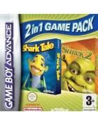 Shrek 2 & Shark Tale: 2 in 1 Game Pack Gameboy Advance