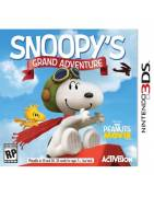 Snoopys Grand Adventure The Peanuts Movie 3DS