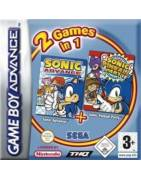 Sonic Advance and Pinball Double Pack Gameboy Advance