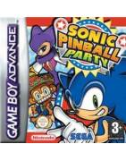 Sonic Pinball Party Gameboy Advance