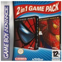 Spider-Man The Movie 1 & 2: 2 in 1 Game Pack Gameboy Advance