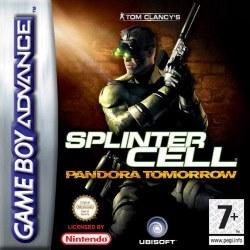 Splinter Cell Pandora Tomorrow Gameboy Advance