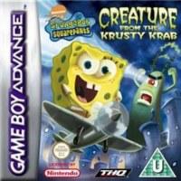 Spongebob Squarepants & Friends Creature From Krusty Krab Gameboy Advance