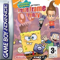 SpongeBob Squarepants and Friends Freeze Frame Frenzy Gameboy Advance