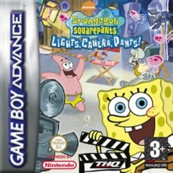 SpongeBob Squarepants Lights Camera PANTS Gameboy Advance