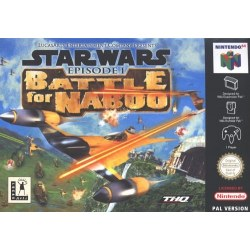Star Wars Battle for Naboo N64
