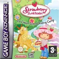 Strawberry Shortcake Ice Cream Island Riding Camp Gameboy Advance