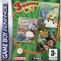 Tak Rugrats and SpongeBob Supersponge Gameboy Advance