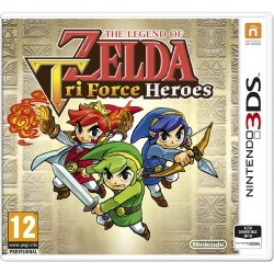 The Legend Of Zelda Tri Force Heroes 3DS