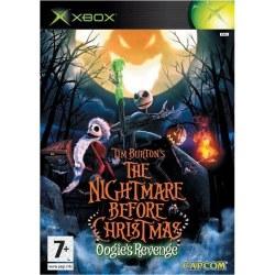 Tim Burtons Nightmare Before Christmas Xbox Original