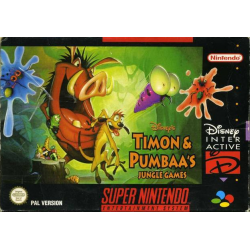 Timon and Pumbaas Jungle Games