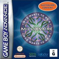 Who Wants to be a Millionaire? Gameboy Advance