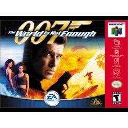 World is Not Enough 007...