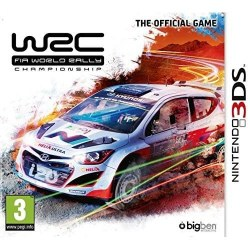 WRC: FIA World Rally Championship: The Official Game 3DS