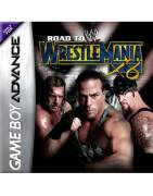 WWE Road to Wrestlemania X8 Gameboy Advance