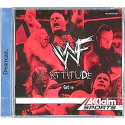 WWF Attitude Dreamcast
