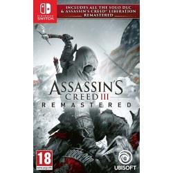 Assassins Creed III Remastered Nintendo Switch