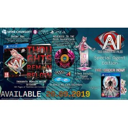 AI The Somnium Files Special Agent Edition PS4