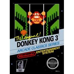 Donkey Kong III NES