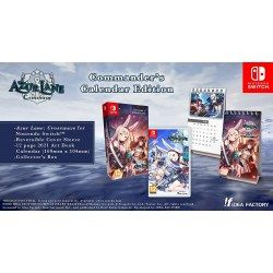 Azur Lane Crosswave Commanders Calendar Edition Nintendo Switch