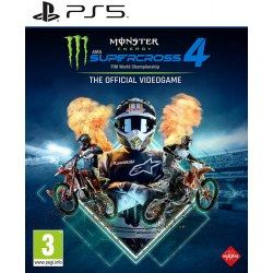 Monster Energy Supercross The official Video Game 4 PS5