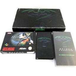 Batman Forever Limited Woolworths Edition SNES